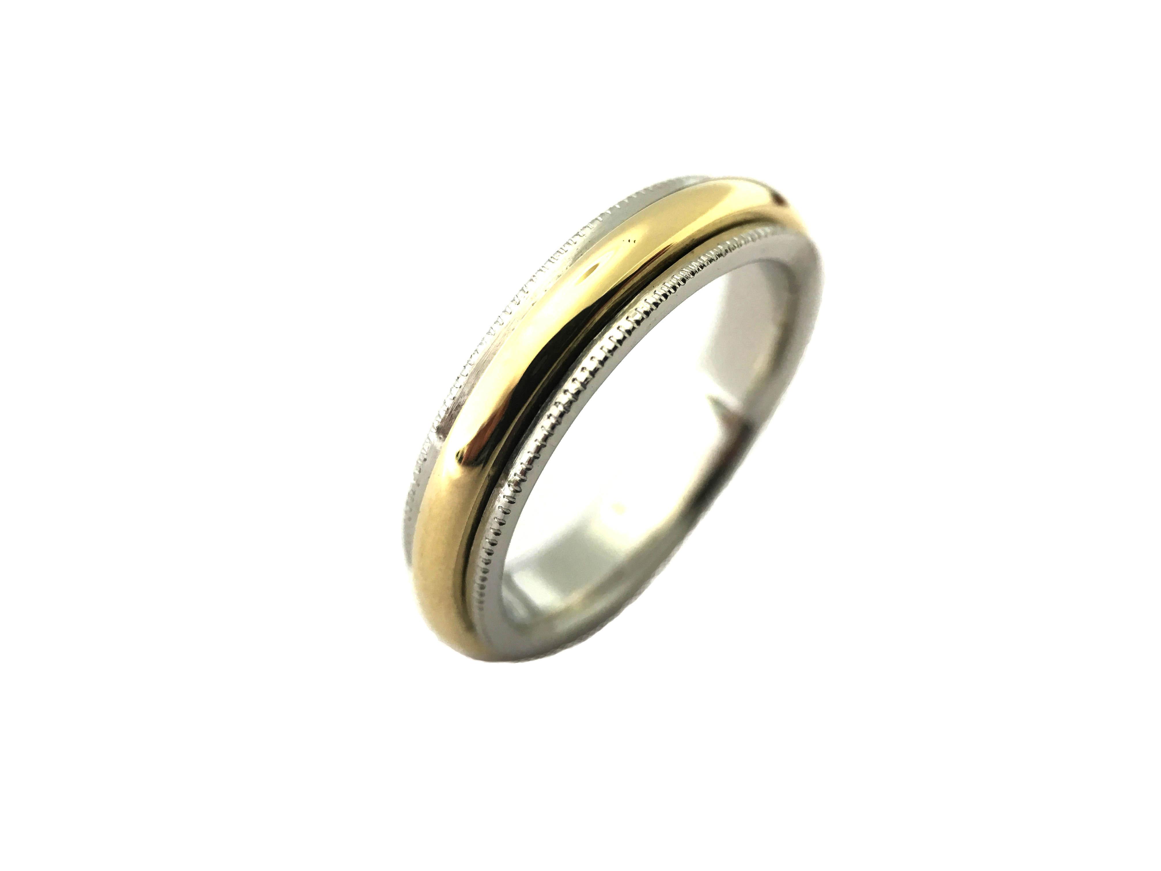two tone wedding ring wedding ring jewellery platinum