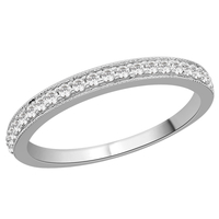Diamond Grain Set Eternity ring