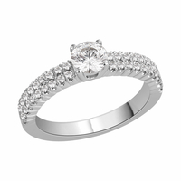 Diamond Claw set engagement ring