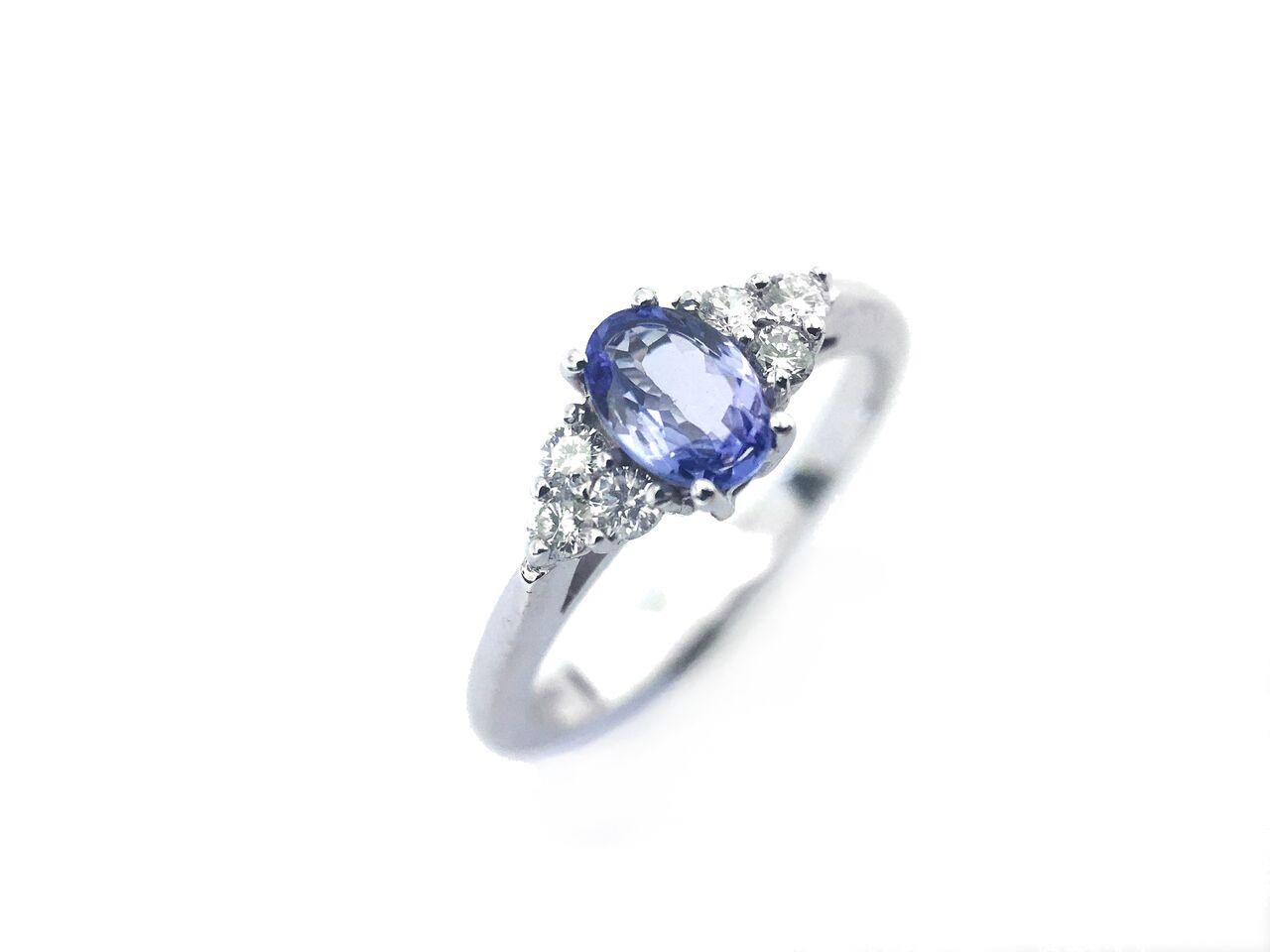 real ring engagement gold women shape fancy rings in pear white tanzanite from for item halo natural wedding jewelry